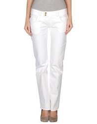 Hollywood Milano Denim Pants White