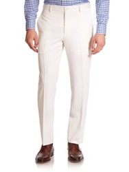 Polo Ralph Lauren Custom Fit Wool Trouser Cream