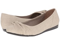 Lifestride Notorious Taupe Women's Flat Shoes