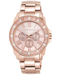 Vince Camuto Women's Rose Gold Tone Stainless Steel Bracelet Watch 43Mm Vc 5158Rgrg
