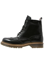 Pepe Jeans Alan Dressy Laceup Boots Black