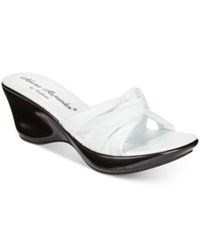 Callisto Athena Alexander By Gaylenn Wedge Sandals Women's Shoes White