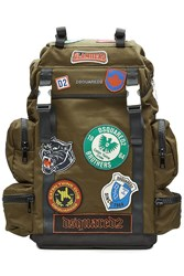 Dsquared2 Fabric Backpack With Patches