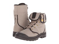 Palladium Pallabrouse Baggy Tw Silver Mink After Dark Men's Boots Brown