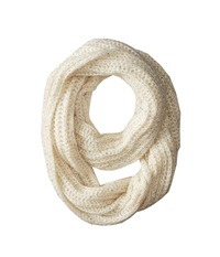 San Diego Hat Company Bss1417 Sequin Large Knit Infinity Scarf Ivory Scarves White