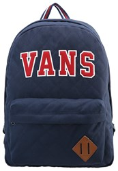 Vans Old Skool Plus Rucksack Dress Blues Chili Pepper Dark Blue