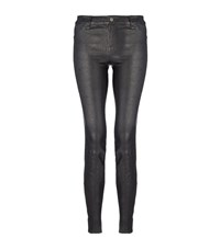 J Brand Skinny Leather Jeans Female