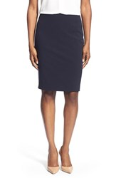 Women's T Tahari Suit Skirt Navy