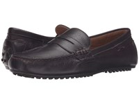 Polo Ralph Lauren Wes Oxblood Grained Pullup Vach Men's Slip On Shoes Brown