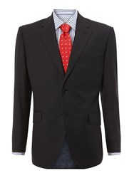 Howick Tailored Fallon Notch Lapel Nested Suit Blue