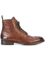 To Boot New York Bruckner Boots Brown