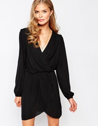 Love Playsuit With Long Sleeves Black