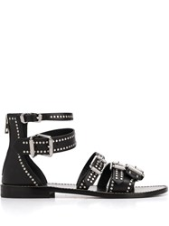 Zadig And Voltaire Studded Strappy Sandals 60