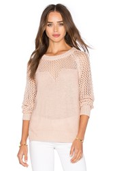 Obey Avignon Sweater Blush