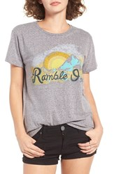 Billabong Women's Ramble On Graphic Tee