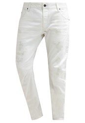 G Star Gstar Arc 3D Slim Slim Fit Jeans Inza White Stretch Denim Light Blue Denim