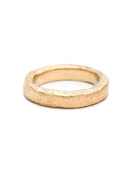 Pearls Before Swine Forged Band Ring Metallic