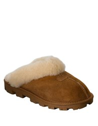 Ugg Ladies Coquette Sheepskin Slippers Brown