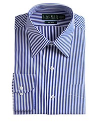 Lauren Ralph Lauren Striped Dress Shirt White