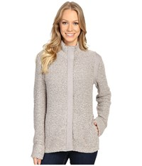 Royal Robbins Bella Boucl Zip Cardigan Sandstone Women's Sweater Beige