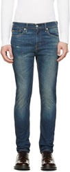 Levi's Faded Blue 510 Skinny Jeans