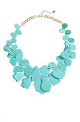 Baublebar Women's 'Seaglass' Bib Necklace Turquoise