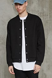 Forever 21 Cotton Blend Bomber Jacket