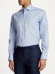 Smyth And Gibson Non Iron Twill Contemporary Fit Shirt Sky