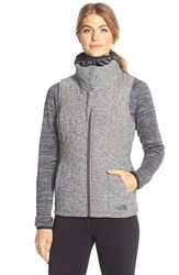 The North Face Women's 'Pseudio' Quilted Vest Asphalt Grey Heather