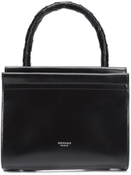 Rochas Zip Up Tote Bag Black