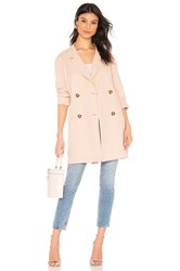 Lpa Double Breasted Jacket Beige
