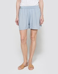 Just Female Puffy Shorts Celestial Blue