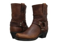 Frye Harness 8R Cognac Washed Oiled Vintage Women's Pull On Boots Brown
