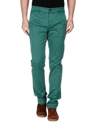 Camouflage Ar And J. Casual Pants Green