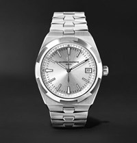 Vacheron Constantin Overseas Automatic 41Mm Stainless Steel Watch Silver