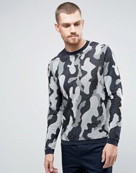 Ymc Camo Crew Knit Jumper Multi