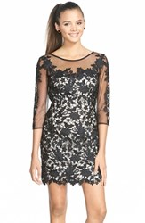 Women's Sean Collection Embroidered Lace Sheath Dress