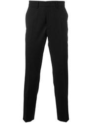 Mcq By Alexander Mcqueen Straight Leg Trousers Black