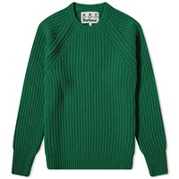 Barbour Tynedale Crew Knit White Label Green