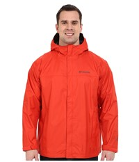 Columbia Watertight Ii Jacket Extended Super Sonic Men's Coat Red
