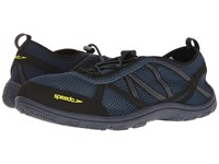 Speedo Seaside Lace 5.0 Insignia Blue Black Men's Shoes