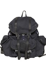 Dsquared Military Cotton Canvas Backpack