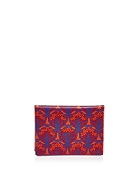 Liberty London Liberty Of London Travel Card Case Red