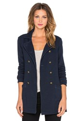 Velvet By Graham And Spencer Hadarah Peacoat Navy