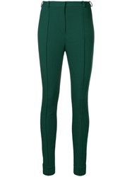 Lanvin Classic Skinny Trousers Green