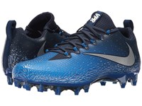 Nike Vapor Untouchable Pro Midnight Navy Metallic Silver Photo Blue Men's Cleated Shoes