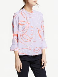 Great Plains Ava Abstract Blouse Misty Lilac
