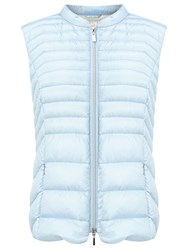 Gerry Weber Light Down Filled Gilet Blue