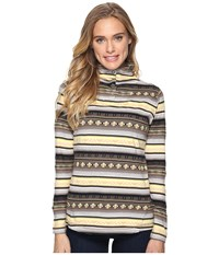 Woolrich Spring Mile Run Half Snap Heddle Women's Clothing Brown