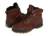 Ecco Track Ii Gtx High Bison Leather Bison Oiled Nubuck Men's Waterproof Boots Brown